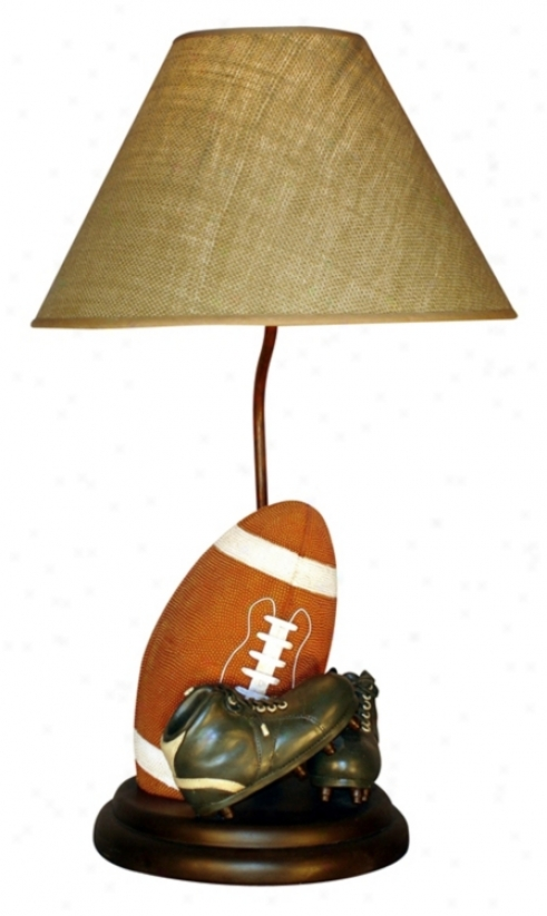 Classic Sports Clolection Football Table Lamp (61798)