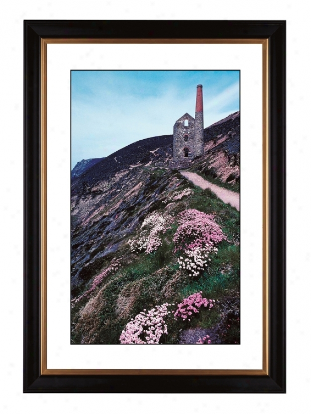 "Cliffside Ruins Giclee 41 3/8"" High Wall Practical knowledge (56942-80384)"