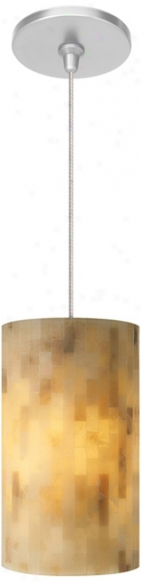 Coliseum NaturalW ith Satin Nickel Fusion Jack Mini Chandelier (m9284-47250)