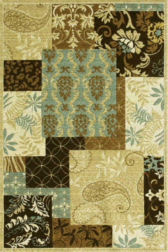 Collage Collection Indoor-outdoor 2'x3 ' Area Rug (65044)