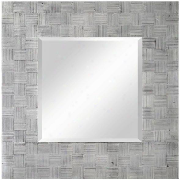 "Cooper Classics Angela 34"" High Wall Mirror (u8517)"