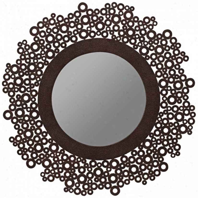 "Cooper Classics Tyler 31 1/2"" High Wall Mirror (u8497)"