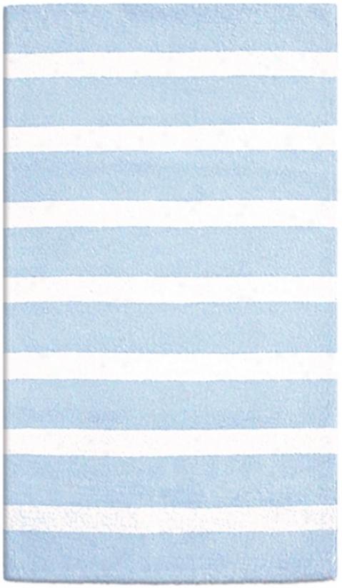 "Copacabana Blue 2' 8""x4' 8"" Area Rug (f4265)"