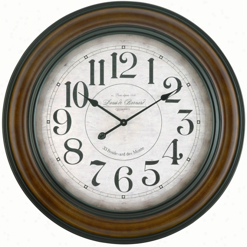 Copper Classics Pagton 32&quott; Wide Wall Clock (u9370)