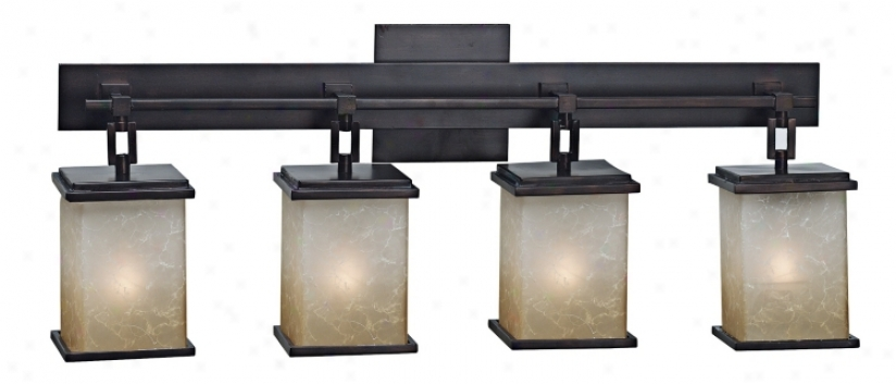 Corteo Collection Four Light Bath Easy  Fixture (12480)