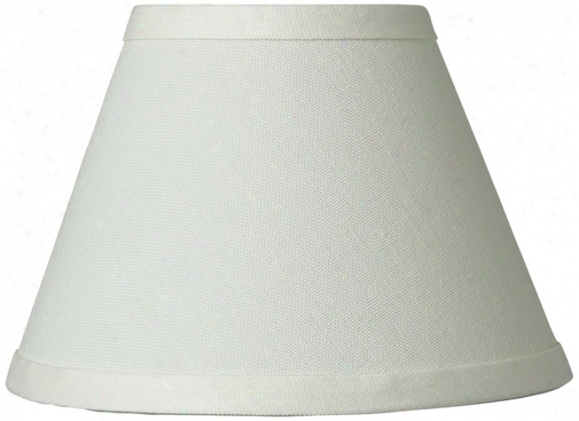 Cream Chandelier Lamp Shade 3.5x7x5 (clip-on) (29871)