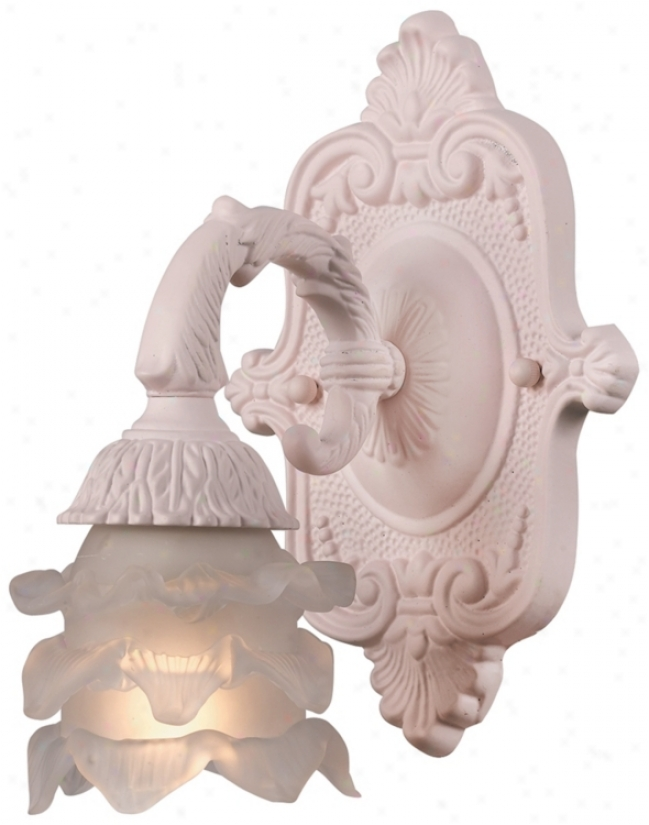 Crystorama Avignon Collection Blush 9&quoy; High Wall Sconce (p3239)