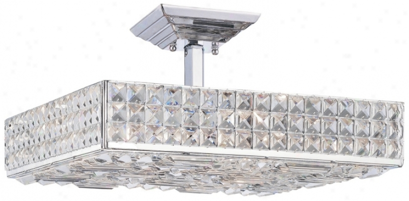 "Crystorama Majestic Collection 18"" Wide Ceiling Light (m2701)"