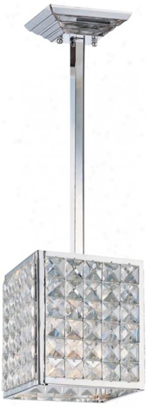 "Crystorama Majestic Accumulation 5 1/2"" Wide Mini Pendant (r0906)"