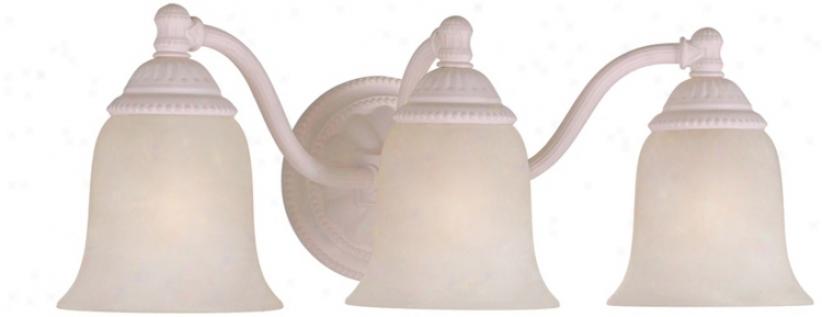 "Crystorama Paeis Flea Market 3-light 18"" Wide Bath Light (v8821)"