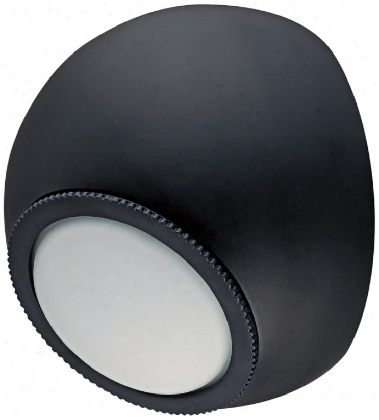 """Csl Orb Bronze 5 1/4"""" Wide Led Wall Lght (t0072)"""