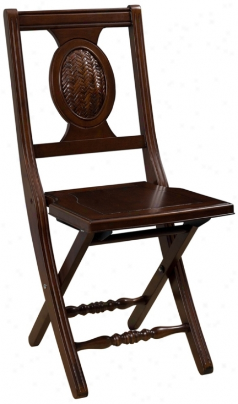 Cumberland Mahogany Plait Chair (p7514)