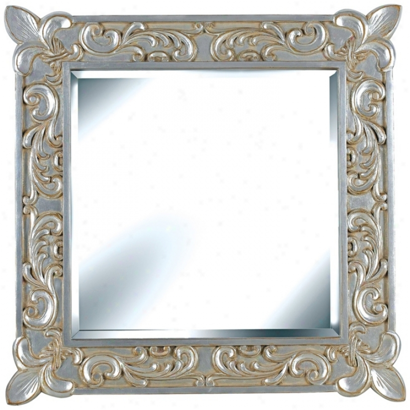 "D'argent Deluxe 31"" High Wall Mirror (t5057)"