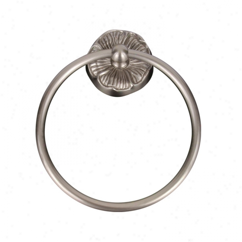 Daisy Design Pewter Finish Towel Ring (30829)