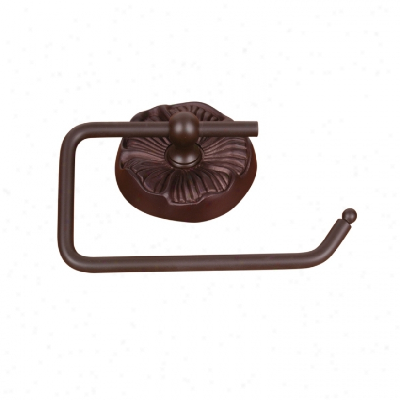 Daisy Oil Rubbed Bronze Euro-style Toilet Paper Holder (31154)
