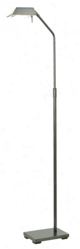 Dark Bronze Halogen Pharmacy Floor Lamp (35716)