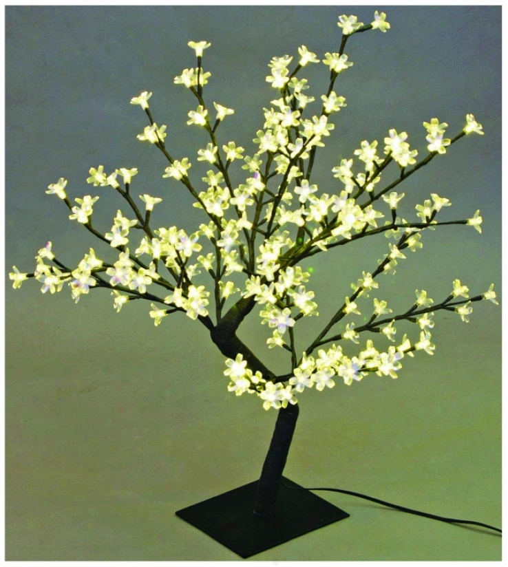 "Decorative 17 3/4"" Cherry Blossom Tree Led Accent Light (u7873)"