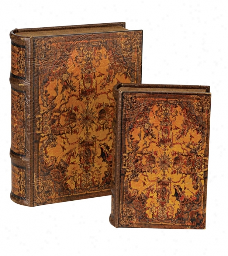 Decorative Book Boxes (70082)