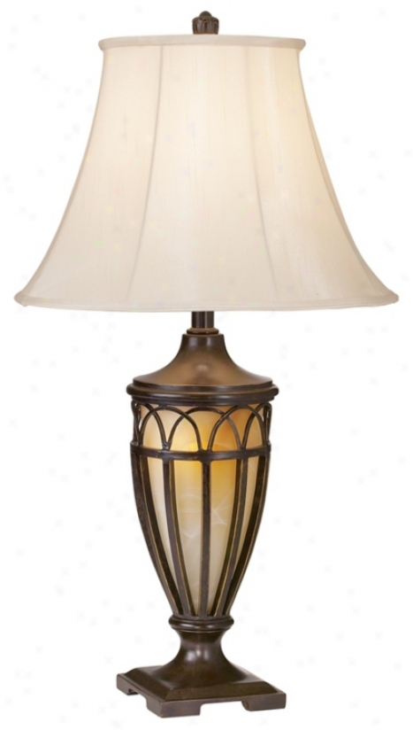 Decoratuve Iron Villa Style Night S~ Table Lamp (92341)