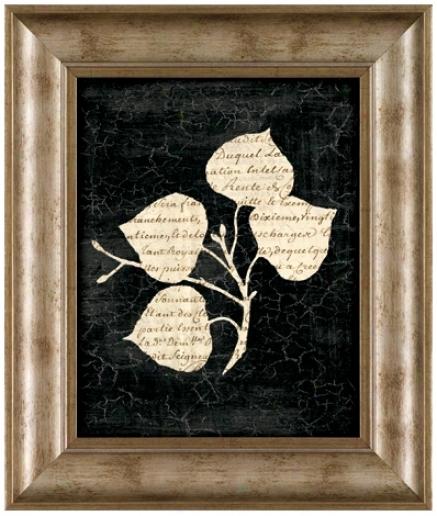 """Decoupe Ii 19 1/2"""" High Framed Wall Art (t0193)"""