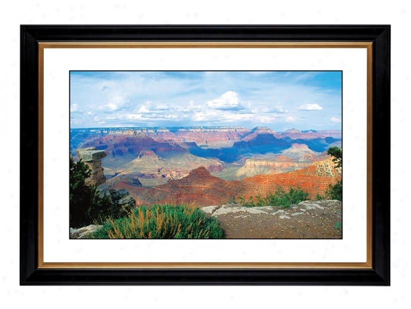 """Desert Vista Giclee 41 3/8"""" Wide Wall Art (47204-80384)"""