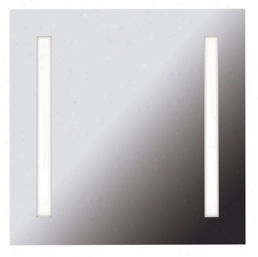 "Destiny 25 3/4"" Square 2-light Vanity Mirror (k5768)"