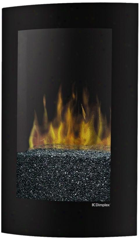 Dimplex Convex Wall-mount Electric Fireplace (u1135)