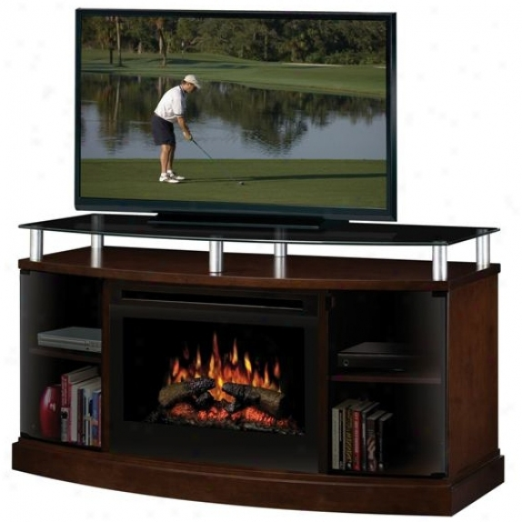 Dimplex Windham Electric Fireplace And Television Console (r1642)