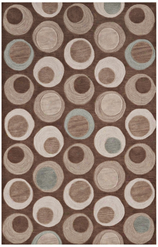 """Dolce Taupe 3' 6"""" X 5' 6"""" Area Rug (n6143)"""