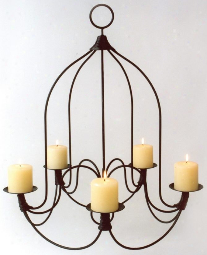 Durum Iron Chandelier (n2218)