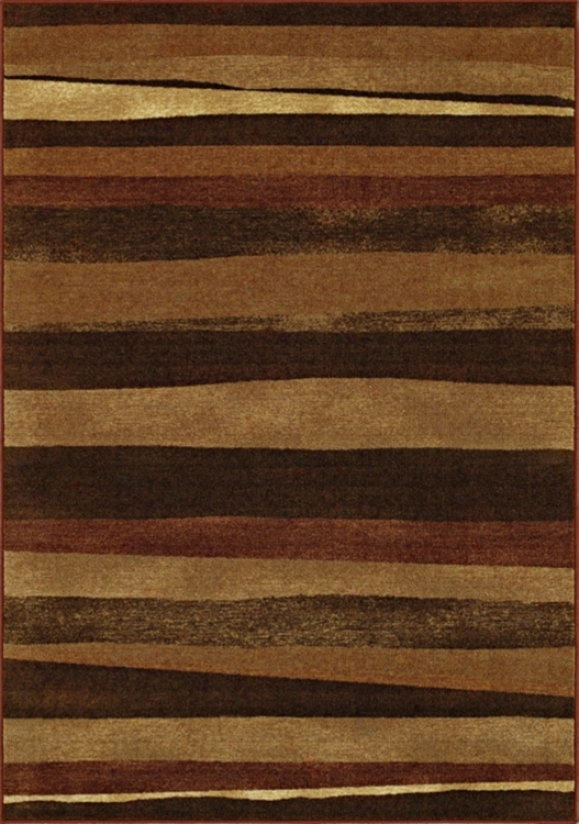 "Elemental Compound Earth 8' 2""x10' Area Rug (j3810)"