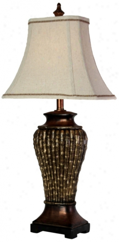 Elsworth Bamboo Table Lamp (t0624)