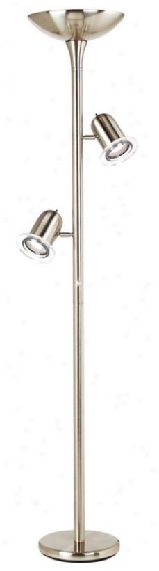Energy-saving Cfl Torchiere Floor Lamp (27949)