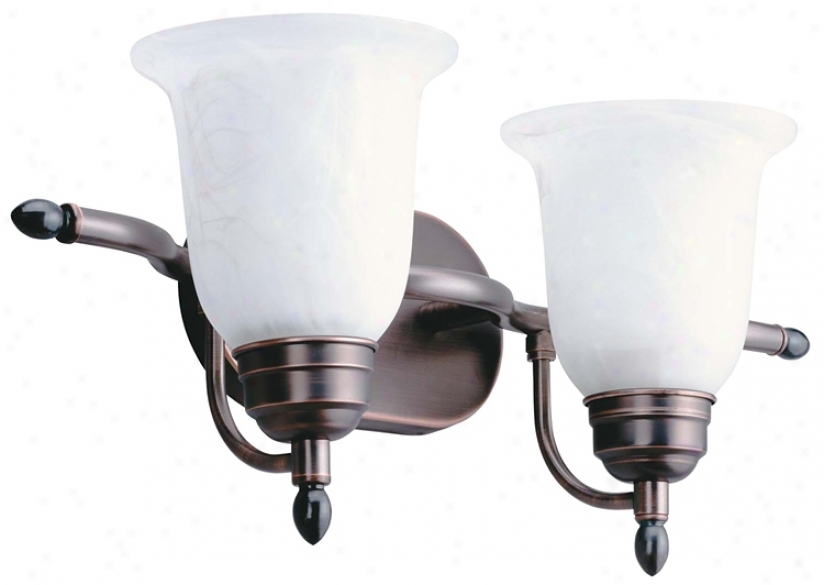 "Energy Star® 20 3/8"" Wide Bathroom Light Fixture (16611)"