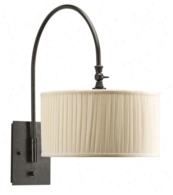 Espresso Swivel Plug-in Wall Lamp (r3207)