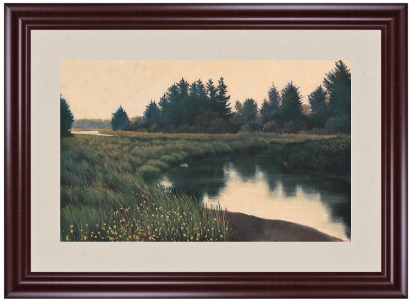 "Estury In The Meadow 45"" Wide Wall Art (j6021)"