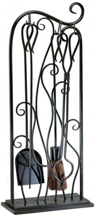 Evalie Fireplace Tools (n3850)