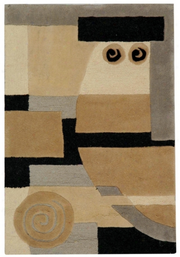 Exquisute Collection Multicolor 2'x3' Area Rug (11940)