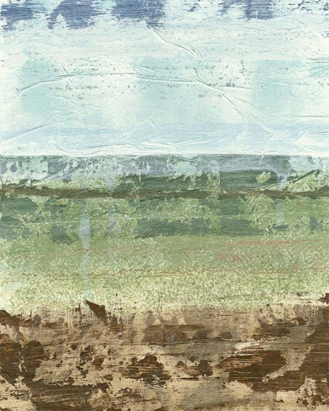 "Extrac5ed Landscape I Giclee 30"" High Canvas Wall Art (n1661)"