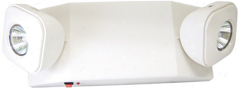 Ez Compact White Halogen Emergency Light (42633)
