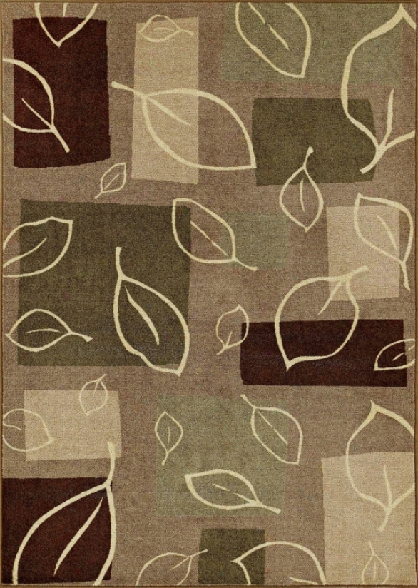 "Fall Impression Wheat 1' 7""x2' 9"" Area Rug (i4673)"