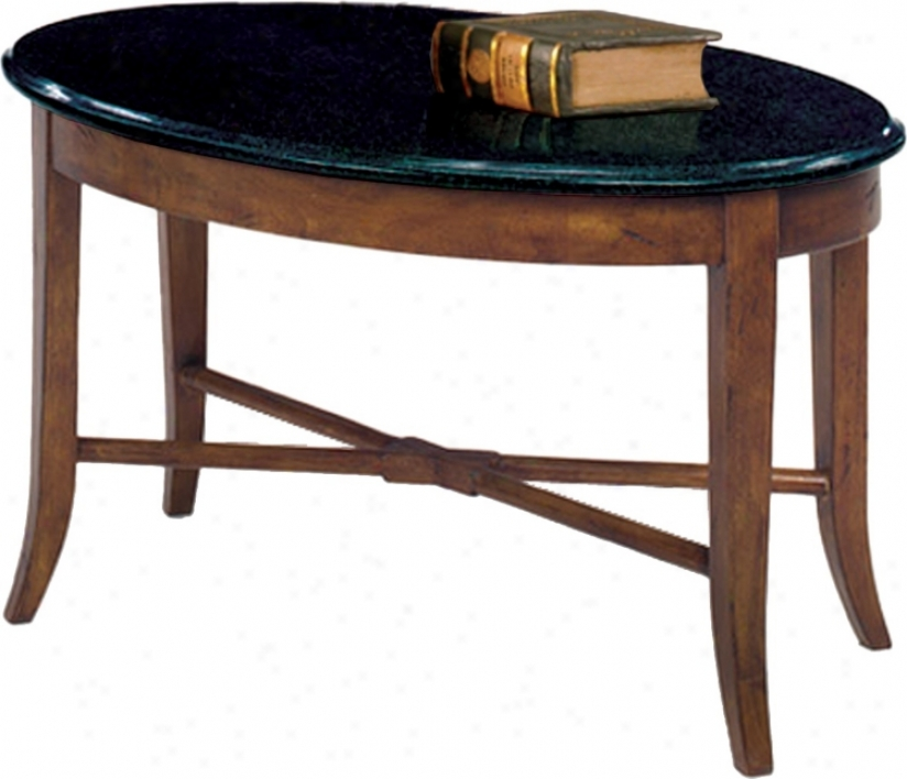 Favorite Finds Mean average Oak Finish Granite Top Coffee Table (k3094)