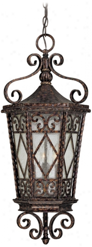 "Felicity Collection 29 1/4"" High Outdoor Hanging Light (j6975)"