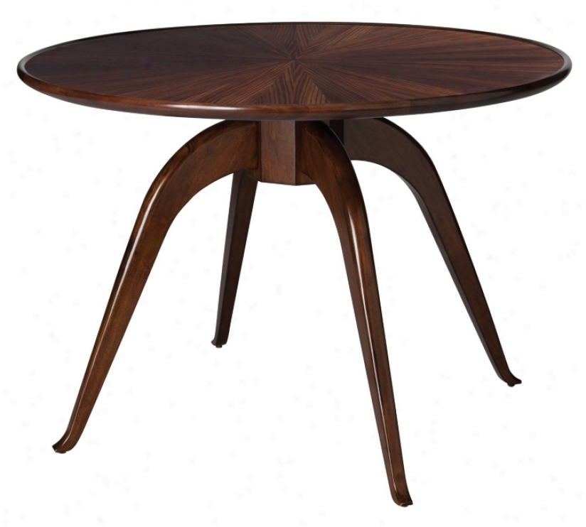 Felix Zebra Espresso Veneer Entry Table (m2233)