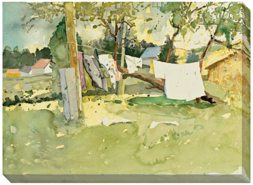"""Felsosqolnok Giclee Print Indoor/outdoor 48"""" Wide Wall Creation of beauty (l0686)"""