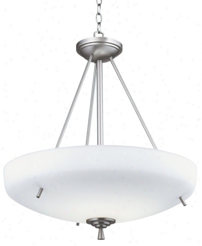 Ferros Collection Energy Star Nickel Pendant Chandelier (31065)