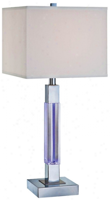 Fidelio Crystal Led Color-changing Column Lamp (u8336)