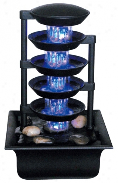 Five Tier Illuminated Fountain (g2593)