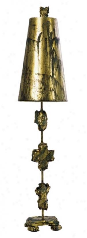 Flambeau Lighting Fragment Tall Buffet Table Lamp (96821)