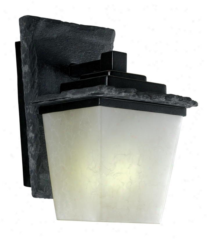 "Flintridge 11"" High Fluorescent Outdoor Wall Libht (30627)"